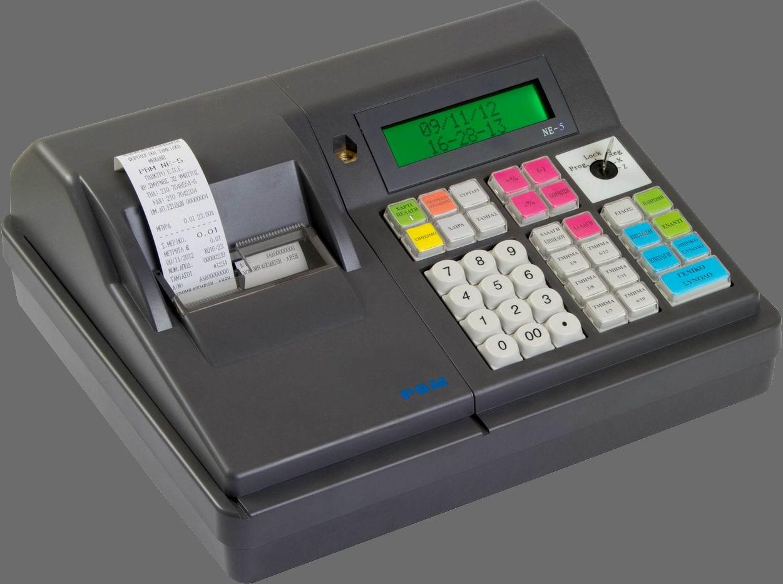 PBM NE-5 Ταμειακή μηχανή με πλήκτρο για κάρτα αποδείξεων(φοροκάρτα) Image